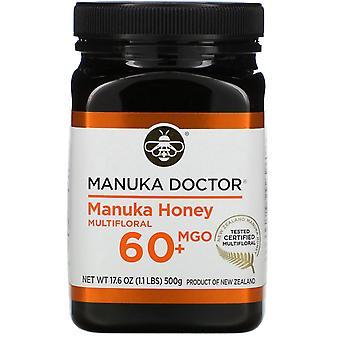 Manuka Doctor, Manuka Honey Multifloral, MGO 60+, 17,6 oz (500 g)