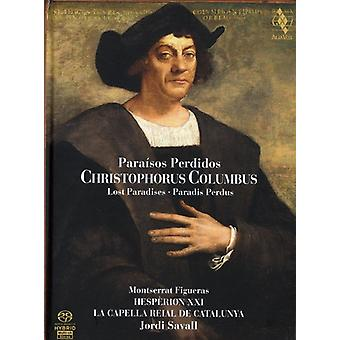 Jordi Savall - Christophorus Columbus: Para Sos Perdidos [SACD] USA import