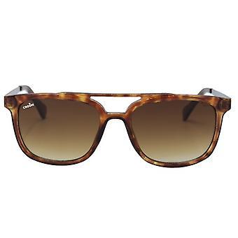 Sunglasses Unisex Mason Havana red-brown