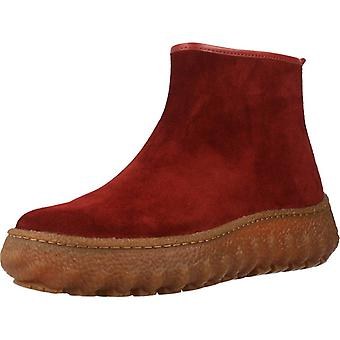 Camper Booties Ground Red