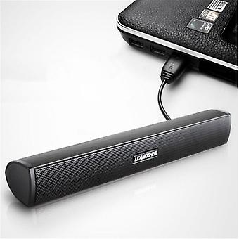Portable Laptop/computer/pc Speaker - Subwoofer, Usb Soundbar, Music Player