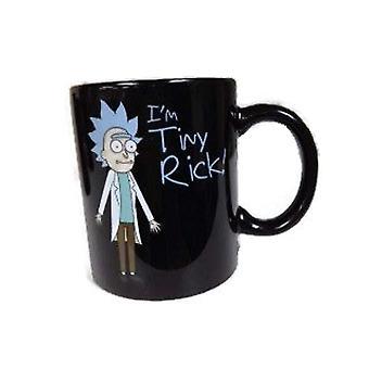 Mug - Rick & Morty - Black Coffee Cup 11oz New cmg-rm-trhp