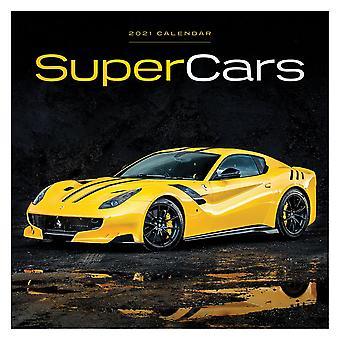 Supercars Calendar 2021 Official Wall Calendar 2021, 12 Months, Staple Binding, English Version.