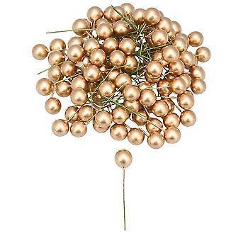 Office Decoration Ball Sztuczna pianka Jagoda Cherry Zestaw 100
