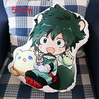 Anime 50cm My Hero Academia Plush Toy, Pillow Cartoon Stuffed Cushion