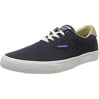 Jack & Jones Mens Canvas Casual Lace Up Trainers Sneakers