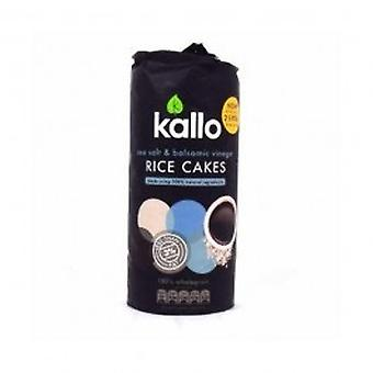 KALLO FOODS - Sea Salt And Balsamic Vinegar Rice Cake