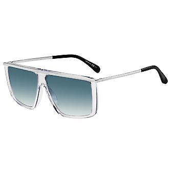 Givenchy GV7146/G/S GKZ/08 Crystal-Palladium/Dark Blue Gradient Sunglasses