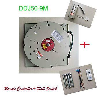 50kg 9m Wall Switch +telecomandă controlate de iluminat-lifter Candelabru Hoist Lamp Winch Light-lifting System 110v/120v/220v/230v/240v