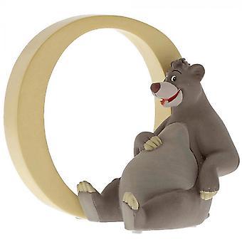 Disney Alphabet Letter O Baloo Figurine