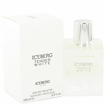 Iceberg tender white eau de toilette spray by iceberg 517347 100 ml