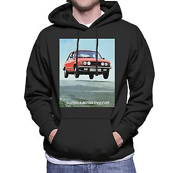 Austin Allegro 3 Better Than Ever British Motor Heritage Men's Hooded Sweatshirt