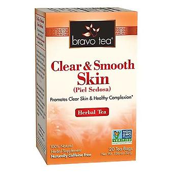 Bravo Tea & Herbs Clear & Smooth Skin Tea, 20 bags