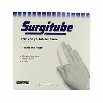 Curativo tubular de surgimento 5/8 polegadas x 50 jardas Tamanho 1, Branco 1 Cada