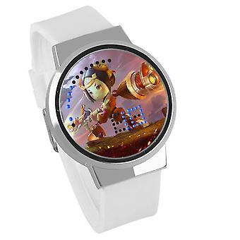 Impermeable Luminoso LED Digital Touch Reloj - Arena Of Valor #43