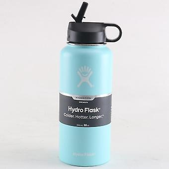 Hydro Flask Straw Lid Vsco Water Bottle- Stainless Steel Insulated Water