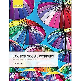 Recht voor welzijnswerkers