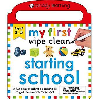 My First Wipe Clean: Starting School [Board book]