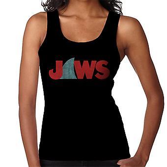 Jaws Shark Fin Logo Kvinnor's Väst