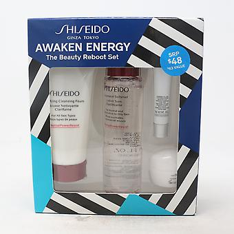 Shiseido توقظ الطاقة الجمال إعادة تشغيل مجموعة / جديد مع مربع