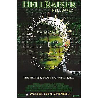 ヘルレイザー Hellworld 映画ポスター (11 x 17)