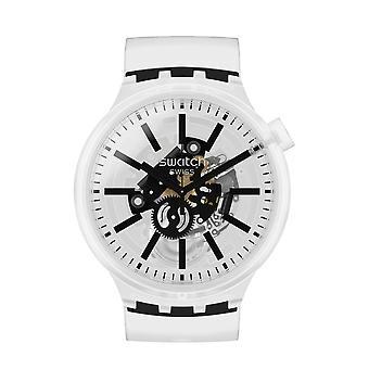 Swatch So27e101 Blackinjelly Big Bold Silicone Watch