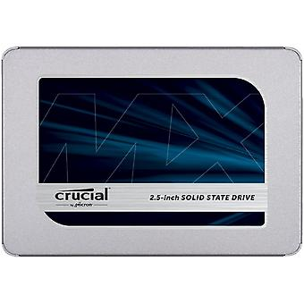 Crucial mx500 250 gb ct250mx500ssd1-up to 560 mb/s (3d nand, sata, 2.5 inch, internal ssd) standard