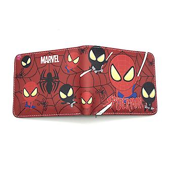 PU leather Coin Purse Cartoon anime wallet - The Avengers #870