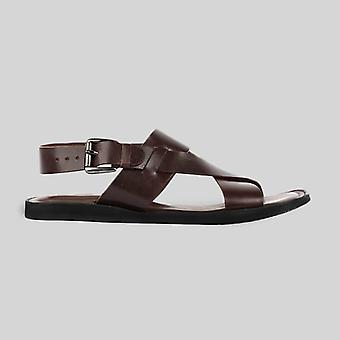 Makar mens cowhide genuine eco leather sandals