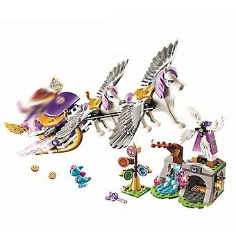 New Elves Dragon Series Fit Fairy Friend Lepining Figures Building Block Bricks