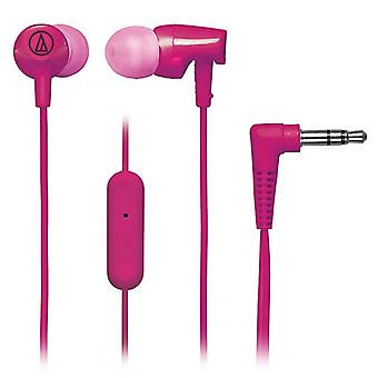 Audio-Technica - In-ear Headset Sonic Fuel ATH-CLR100i - Rosa