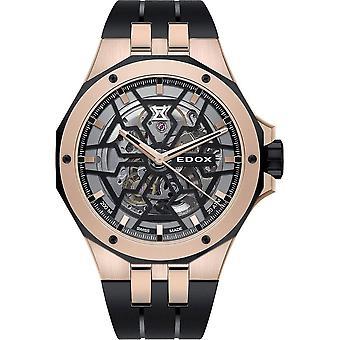 Edox - Wristwatch - Men - Automatic - Delfin Mecano - 85303 357RN NRN