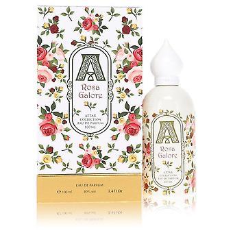 Rosa galore eau de parfum spray by attar collection 553928 100 ml