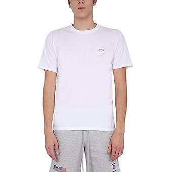 Autry Tsxma01m Men's Valkoinen Puuvilla T-paita