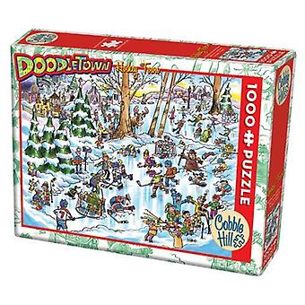 Cobble hill puzzle - hockey town