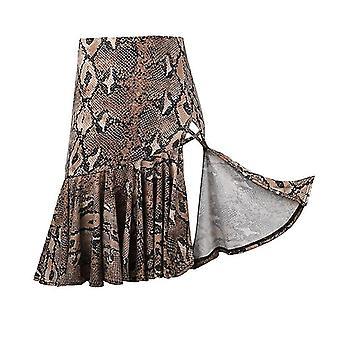 Latin dans nederdel Leopard Print