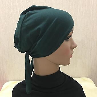Tampa de Hijab de Algodão