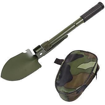 Outils de jardin multifonctions Militaire Stainless Steel Portable Folding Shovel