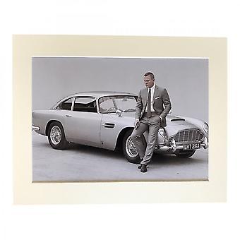 Larrini Bond And Aston Martin Skyfall A4 Mounted Photo