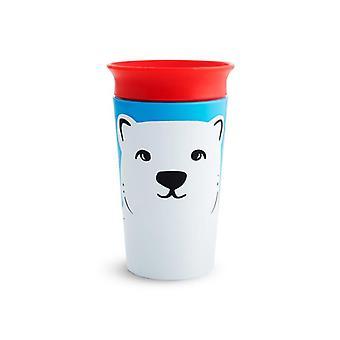 Munchkin mirakel 360 sippy kopp vill kjærlighet polar 266ml