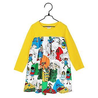 Pippi Longstocking In Villekulla Dress (Yellow)