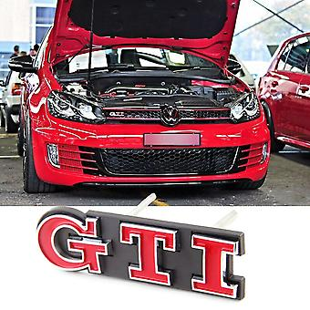 GTI Front Grill Red Badge Emblem Polo Golf MK4 MK5 MK6 MK7