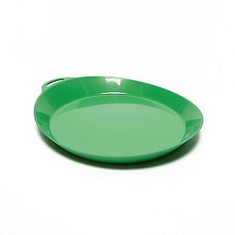New LIFEVENTURE Ellipse Plate Camping Cooking Eating Green
