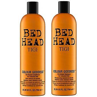 Bed Head Color Goddess Color Combat Brunette Shampoo