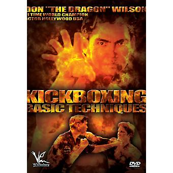 Kickboxing Basic Techniques With Don The Dragon [DVD] USA import