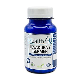 Brewer's Yeast and Wheat Germ 125 tablets