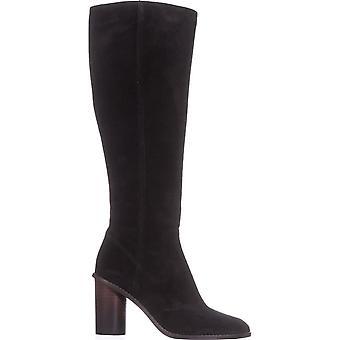 Coach dame Ombre hæl BT læder lukket tå knæ høje mode støvler