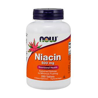 Niacin 250 vegetable capsules