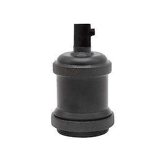 Soporte de lámpara, toma de luz de aluminio industrial retro colgante accesorios base de lámpara