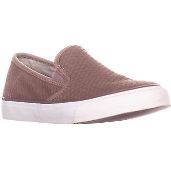 SPERRY Women's Seaside Emboss Sneaker Mauve 8.5 M US